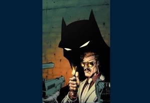 Imagem da capa do terceiro volume de 'Batman, Incorporated': lançamento adiado Foto: Reprodução