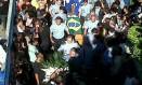 Corpo da PM Fabiana de Souza é enterrado em Valença Foto: João Marcos Coelho / Diário do Vale