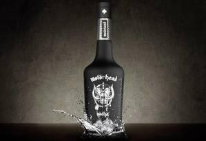 """Segundo a banda, a Motörhead Vodka é """"o verdadeiro espírito do rock"""" Foto: Foto: Divulgação"""