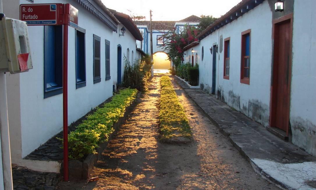 O Beco do Príncipe, no bairro da Passagem, está no roteiro do circuito Foto: Ernesto Galiotto / Divulgação