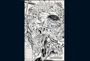 Capa da edição da 'Amazing Spider-Man' desenhada por Todd McFarlane Foto: Divulgação