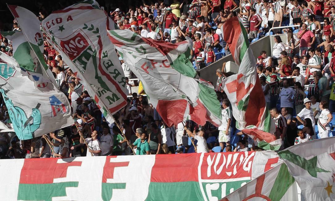 A partida foi válida pela 13ª rodada do Brasileiro Reginaldo Pimenta / Extra / O Globo
