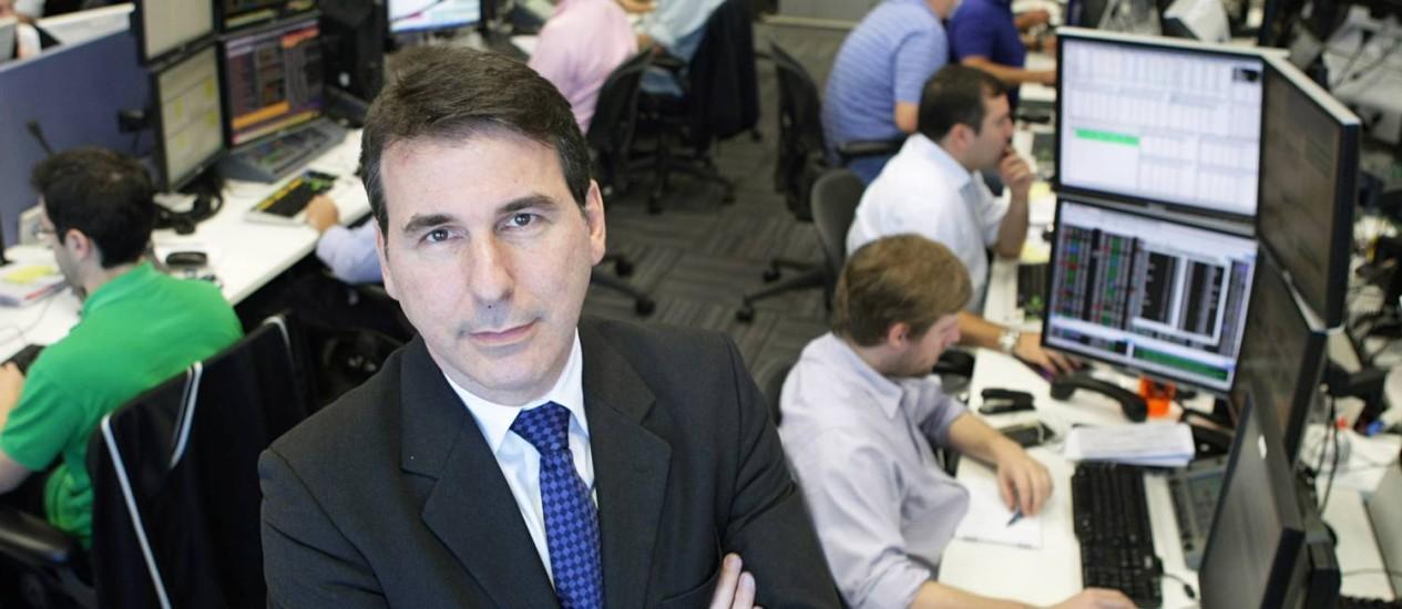 Paulo Levy, diretor da corretora Icap Foto: Agência O Globo / Laura Marques