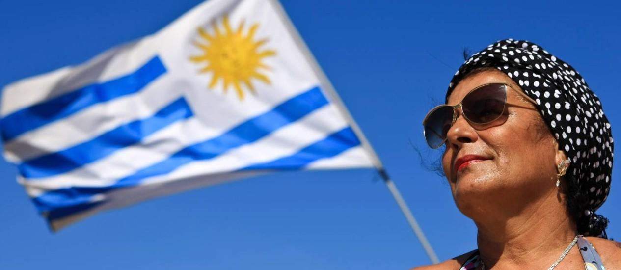 Identificação. Gloria trocou o Uruguai pelo Rio e daqui não sai Foto: Guilherme Leporace