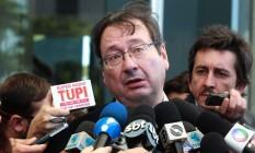 Arnaldo Malheiros, advogado do ex-tesoureiro do PT Delúbio Soares Foto: Agência O Globo / Givaldo Barbosa