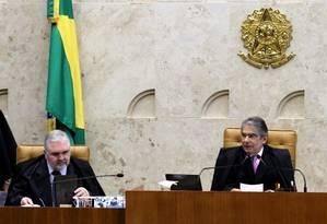 Procurador-geral da República, Roberto Gurgel Foto: Ailton de Freitas / Agência O Globo