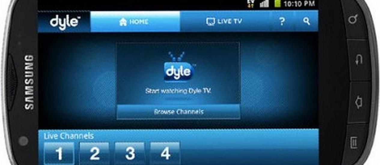 Americana aproveita transmissão de Olimpíadas para atrair consumidores ao seu novo smartphone com TV Foto: REPRODUÇÃO