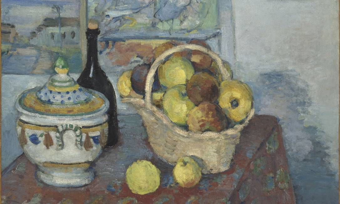 """O quadro """"A natureza morta com sopeira"""" é uma das obras de Paul Cézanne Divulgação"""
