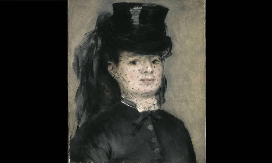 """""""Madame Darras"""" é um tela de Auguste Renoir que estará no Brasil Divulgação"""