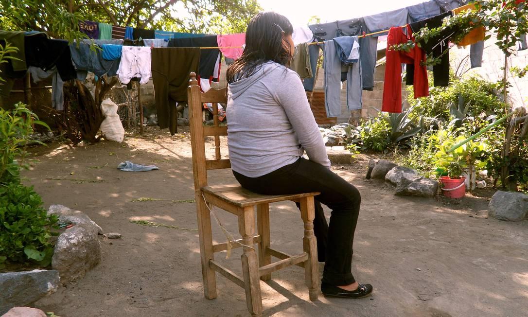 E.A., de 14 anos, tentou cruzar a fronteira aos 12, foi abandonada pelos coiotes e não deseja repetir a experiência. Ela mora em San Jerónimo Coyula, um povoado mexicano que está entre as localidades com maior número de crianças e adolescentes que viajam em busca do sonho americano e terminam deportados Elisa Martins