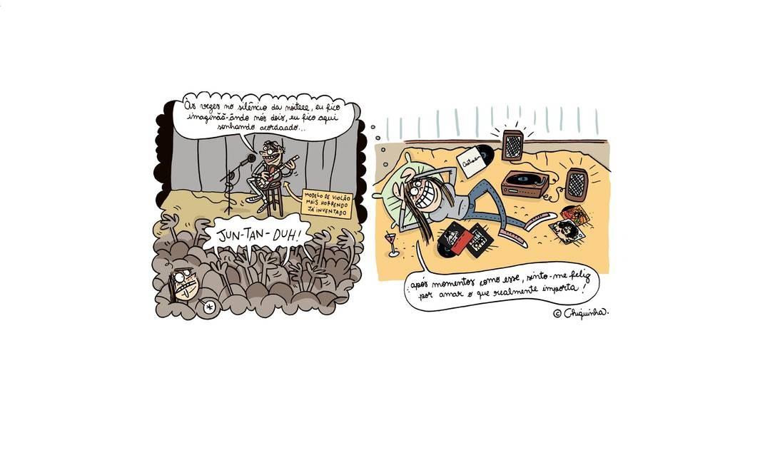 """Autora do livro recém-lançado """"Uma patada com carinho: as histórias pesadas de uma elefoa cor-de-rosa """" (Leya/Barbanegra), a cartunista Chiquinha (pseudônimo da gaúcha Fabiane Bento) também já usou Caetano como piada em seu blog www.chiqsland.com Foto: Divulgação"""
