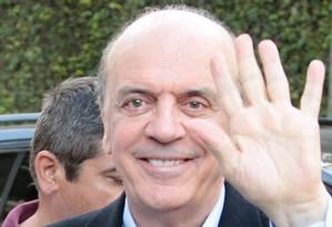 José Serra visita Instituto Lucy Montoro, em São Paulo Foto: Eliária Andrade/ Ag.O Globo