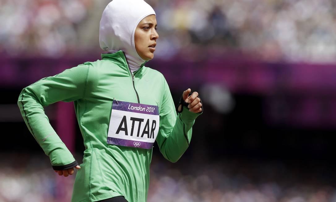Primeira mulher a representar a Arábia Saudita participa
