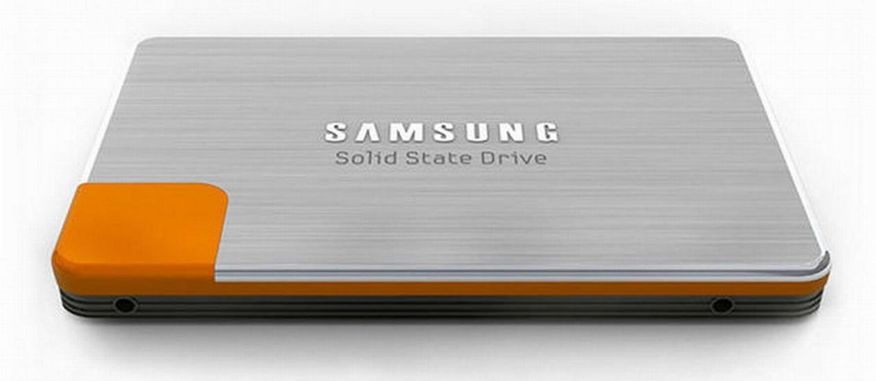 Drive SSD da Samsung toma aspecto de produto para consumidor Foto: Bloomberg