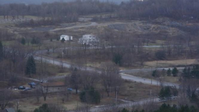A cidade-fantasma de Centralia, na Pensilvânia, que tem incêndio subterrâneo há 50 anos Foto: Reprodução/Google Maps