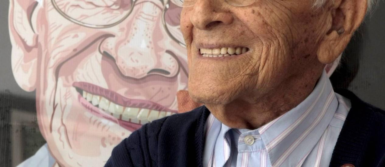 Literatura. Membro da Academia Fluminense de Letras, Pimentel é autor de mais de 20 livros Foto: Gustavo Stephan / Agência O Globo