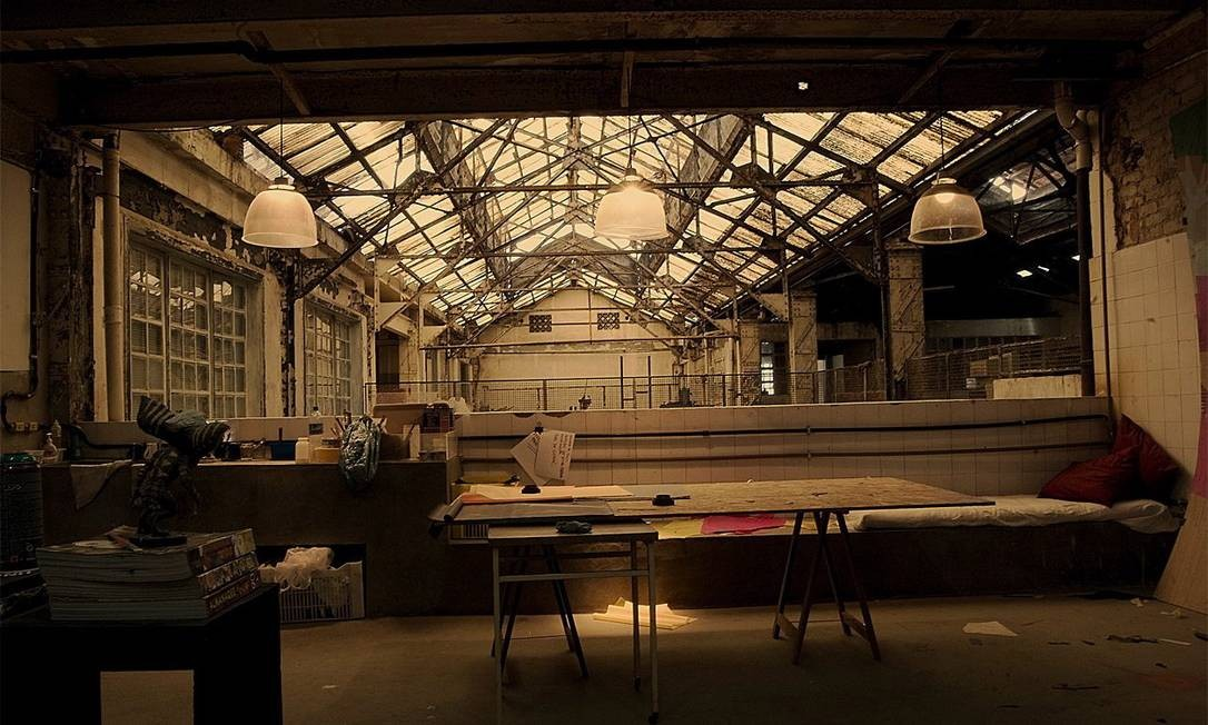 A antiga fábrica Bhering, transformada por artistas plásticos em ateliê Foto: Divulgação/Alonso Martinez