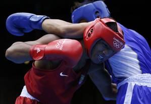 O brasileiro Esquiva Falcão perdeu para o japonês Ryota Murata na final do boxe olímpico Foto: Reuters
