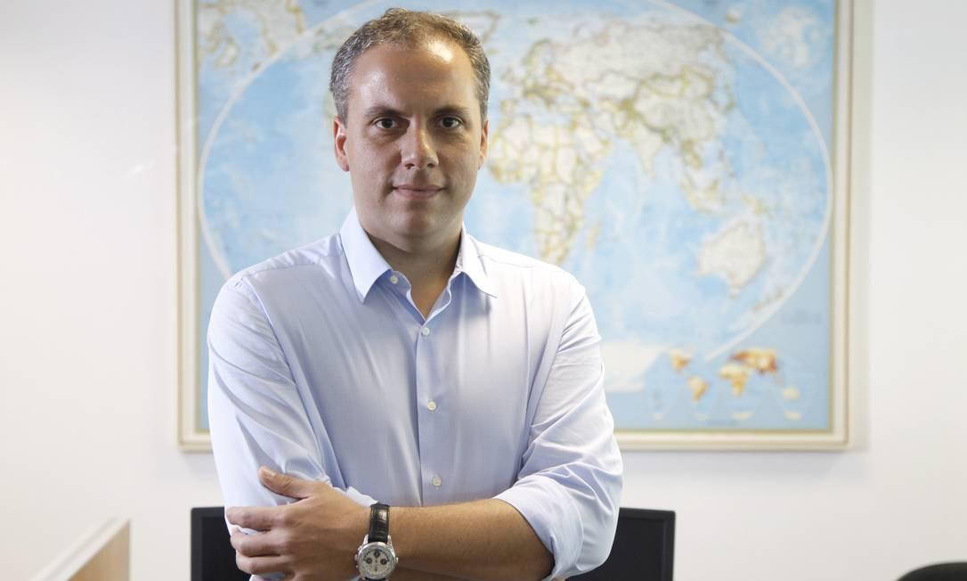 Alexander Gorra, estrategista-senior do BNY Mellon ARX: regra do jogo mudou Foto: Fabio Rossi / Agência O Globo