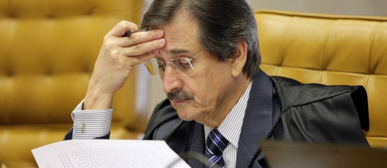 Ministro Cezar Peluso vai se aposentar dia 3 de setembro quando completa 70 anos Foto: Divulgação STF