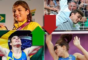 Os dez mais e os dez menos dos Jogos de Londres-2012 Foto: O Globo