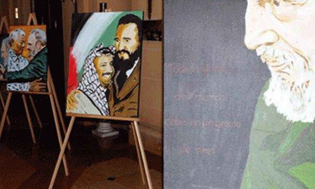 Os vinte quatros da exibição foram pintados pelo artista brasileiro Helder Becerra Foto: ACN / Helder Becerra