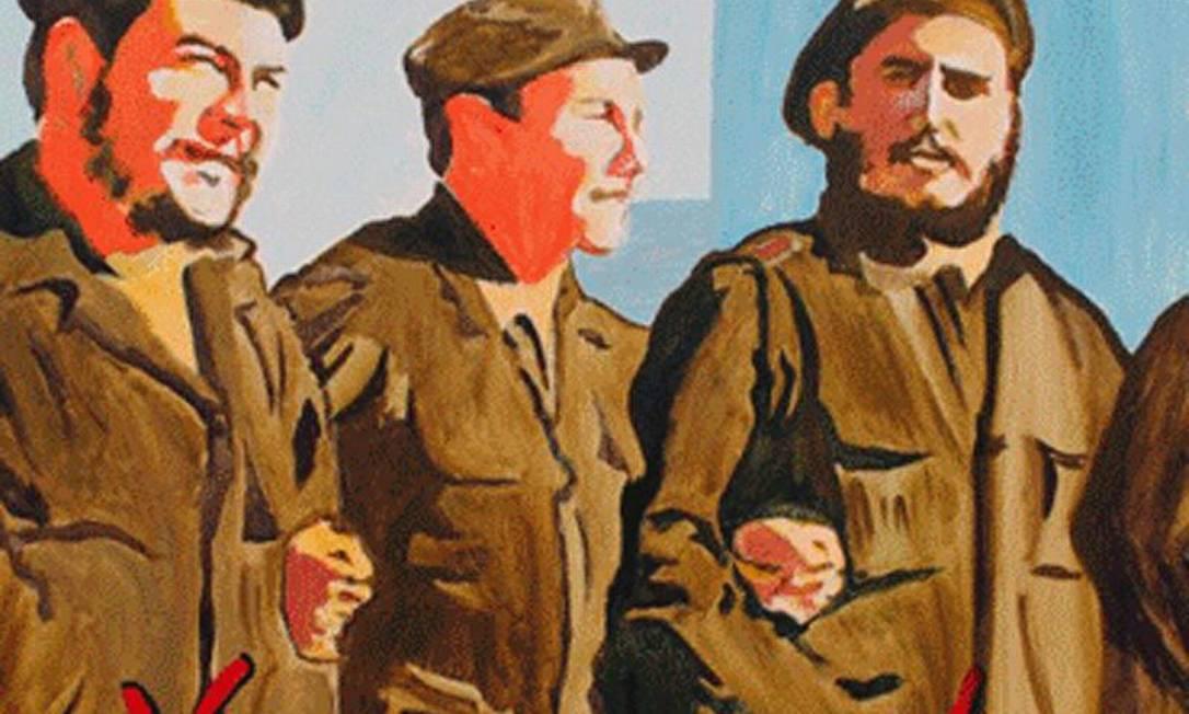 Ao lado do irmão Raúl Castro e de Che Guevara como revolucionário Foto: ACN / Helder Becerra