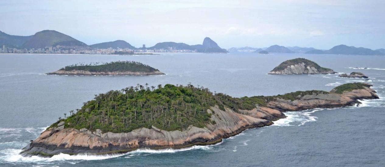 FORMAÇÕES ROCHOSAS e uma bela paisagem são atrativos da unidade de conservação Foto: Divulgação/Fernando Moraes