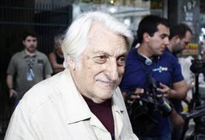 O marchand romeno Jean Boghici, um dos maiores colecionadores de arte do Brasil Foto: Pablo Jacob / O Globo