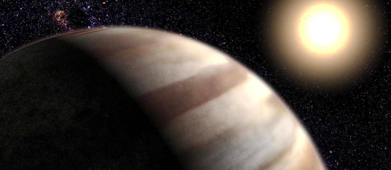 PLANETAS PEQUENOS podem ter luas e o planeta Terra está, de fato, dentro do Sol Foto: AFP