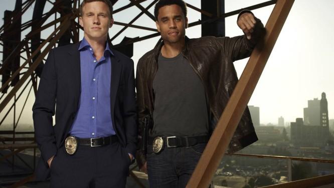 Kole (à esquerda), ao lado de Michael Ealy: ator que interpretar tipos sem moral Foto: Divulgação