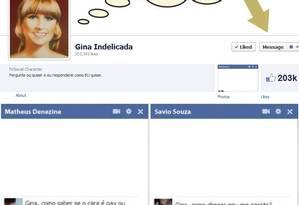 Gina indelicada Foto: reprodução