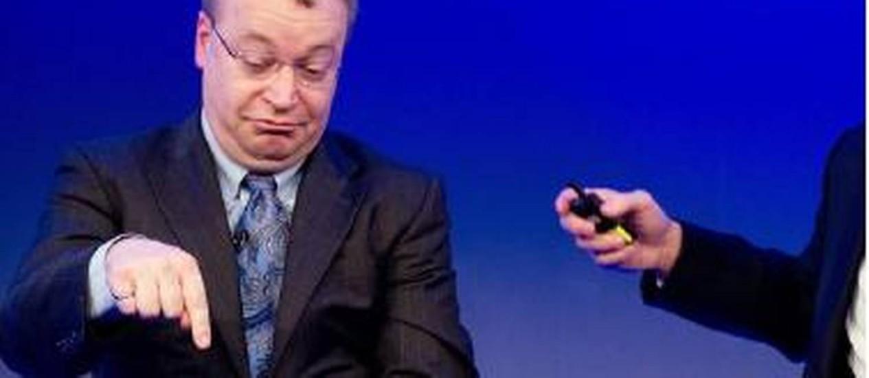 Executive Stephen Elo, CEO da Nokia Foto: AFP