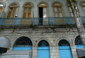 Patrimônio preservado. Sobrado da Estudantina agora é um bem dos cariocas Foto: Berg Silva/29-01-2007 / O Globo