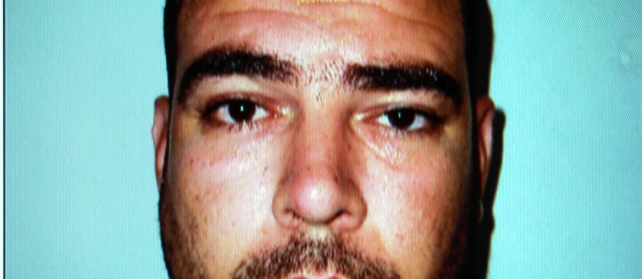 Jorge Augusto Santos de Araújo, preso após estuprar jovem na frente da mãe Foto: Gabriel de Paiva / Agência O Globo