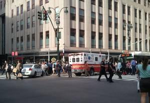 Atirador teria morrido, ainda não se sabe número exato de vítimas Foto: Reprodução/ Twitter @NYCphotos