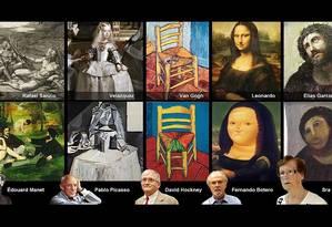 As versões que deram certo e a restauração de dona Cecília Foto: Reprodução