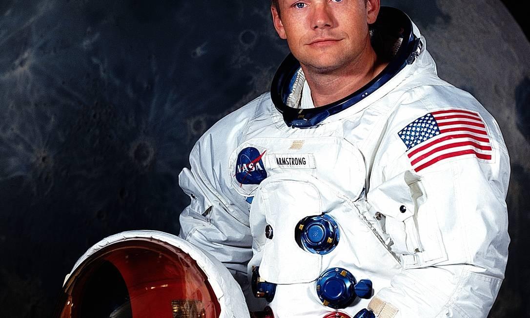 Neil Armstrong, em foto na década de 60 Foto: Nasa / Divulgação