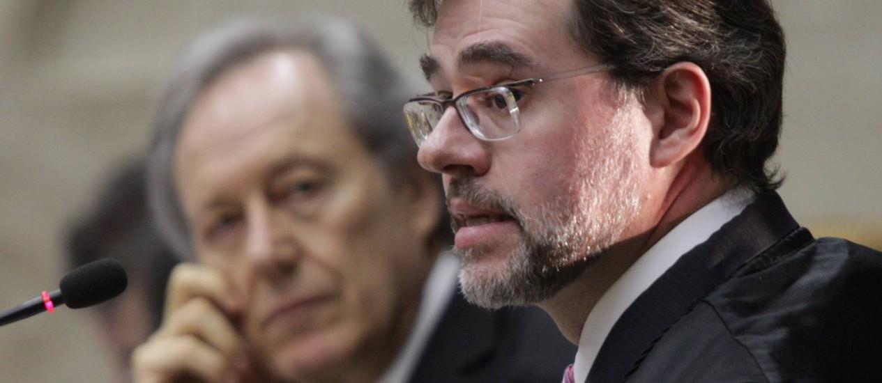 Dias Toffoli vota pela absolvição de João Paulo Cunha Foto: Agência O Globo / André Coelho