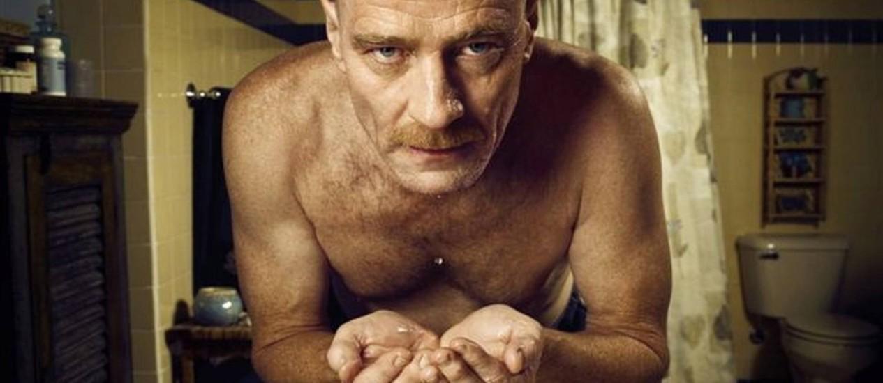 Walter White (Bryan Cranston) é um professor de química que vira traficante de drogas Foto: Divulgação
