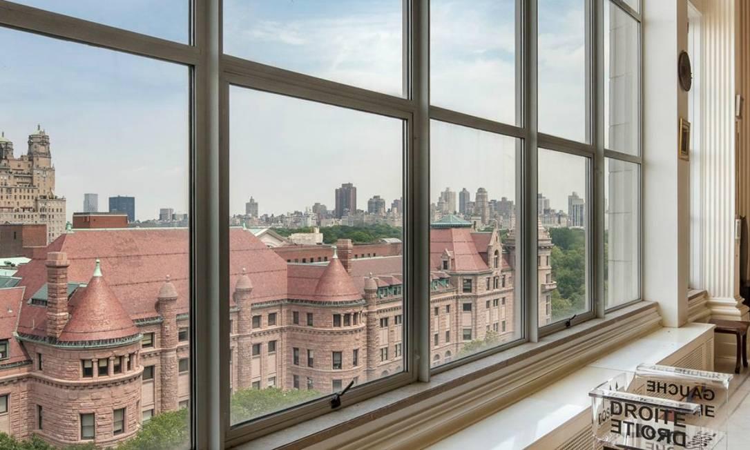 Situado em Upper West, o apartamento tem vista para o Museu de História Natural de Nova York Reprodução internet/Curbed