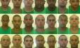 Os 21 torcedores do Fluminense detidos na semana passada