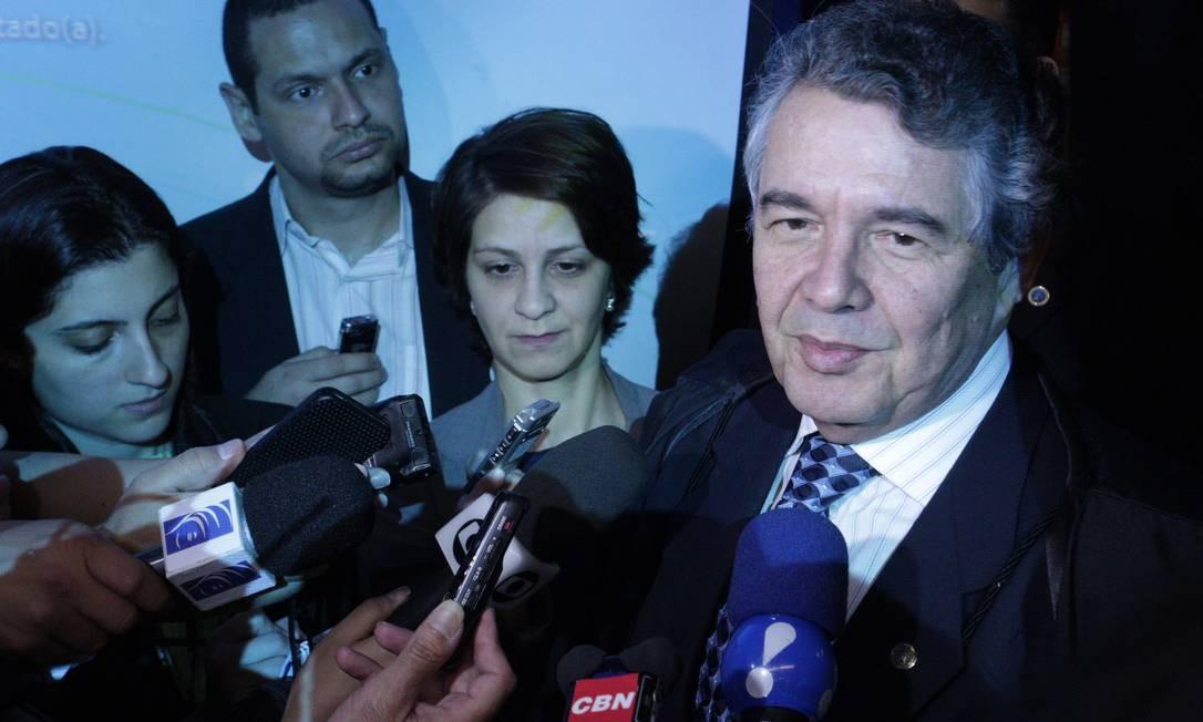 Ministro Marco Auréilio diz que não é preciso aval da Câmara caso STF decida pela cassação do mandato de João Paulo Foto: O Globo / André Coelho