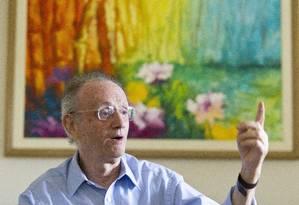 Liszt Vieira havia colocado cargo à disposição em dezembro Foto: Márcia Foletto / O Globo
