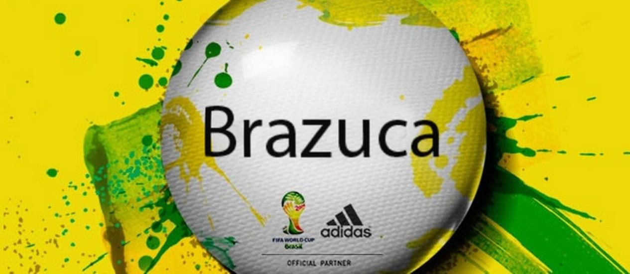 Brazuca Foto: Crição O Globo