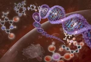DNA pode ser enrolado e compactado, o que eleva a capacidade de armazenamento em menos espaço Foto: Photo Researchers/Latinstock