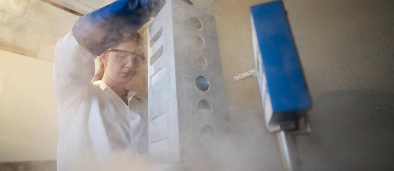 Ioana Pantano, doutora em Engenharia Química Foto: Pedro Kirilos / Agência O Globo