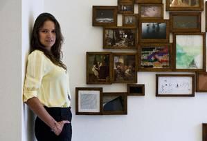 Brenda Valansi, uma das sócias da ArtRio, na galeria A Gentil Carioca Foto: Guilherme Leporace