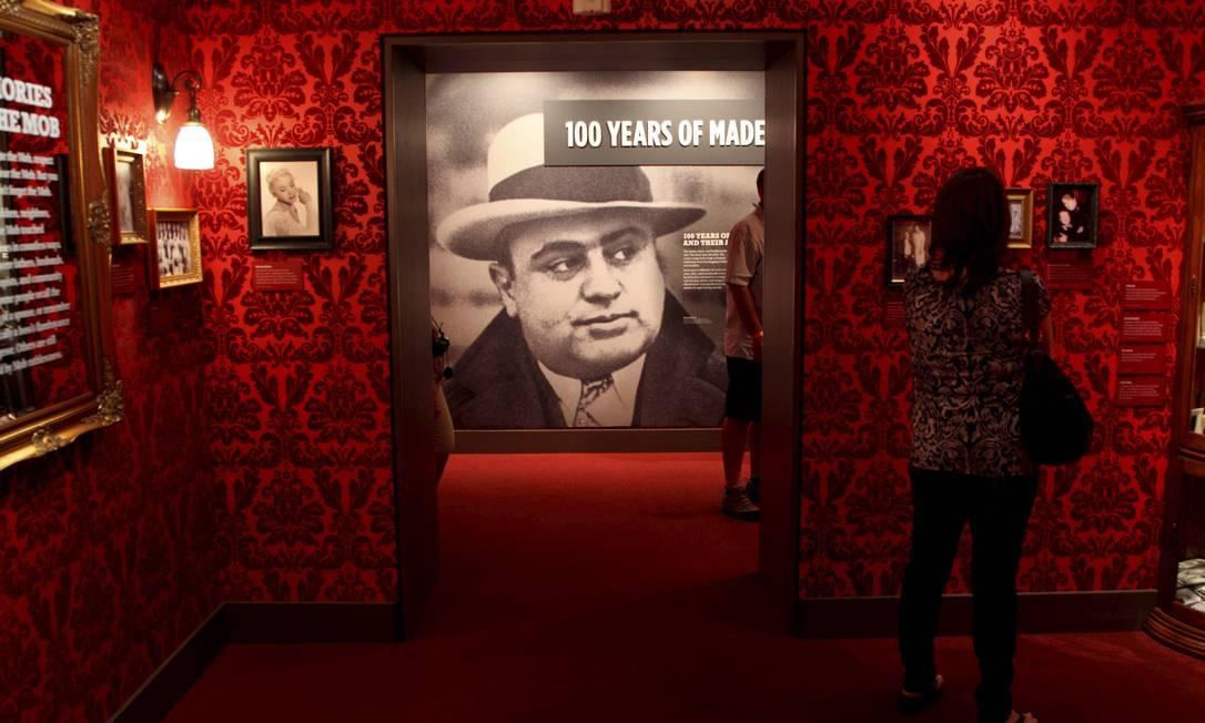 Galeria do crime: no MOB Museum, a história dos mafiosos que ajudaram a fundar Las Vegas Marcelo Carnaval / O Globo