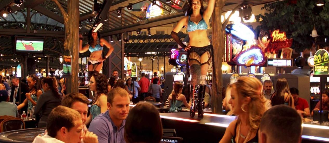 Cassino do Paris Las Vegas Foto: Marcelo Carnaval / O Globo